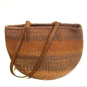 70s/80s Woven Market Bag